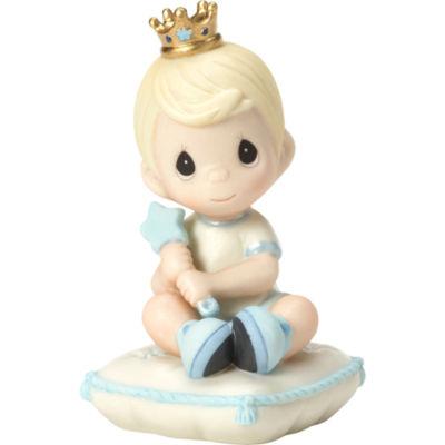 Precious Moments Lil Prince Figurine Baby Milestones - Boys
