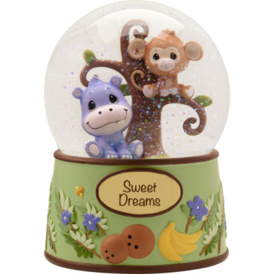 Precious Moments Paws Animal Waterball Baby Milestones - Unisex