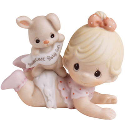 Precious Moments Figurine Baby Milestones - Girls