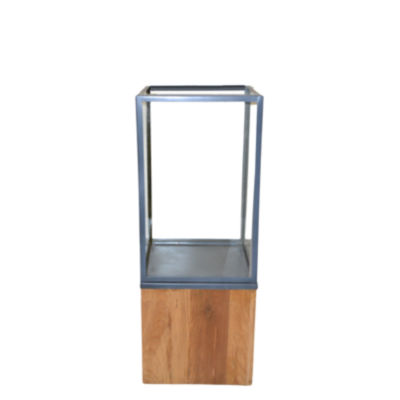 R16 Home Medium Lingnum Et Lapis Candleholder
