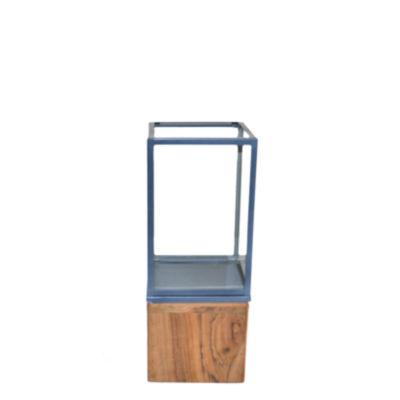 R16 Home Small Lingnum Et Lapis Candleholder