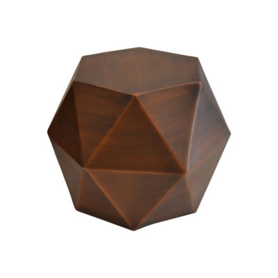 R16 Home Small Octagonal Copper Base Candleholder