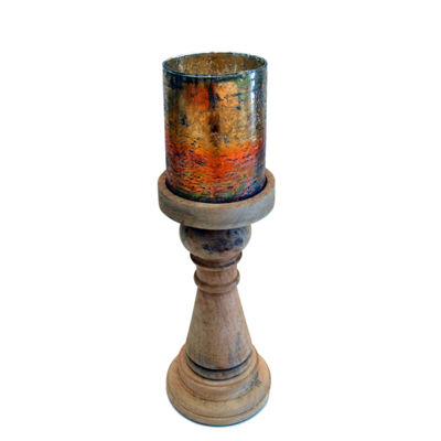 R16 Home Small Mango Rainbow Candleholder