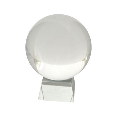 R16 Home Large Crystal Glass Sphere