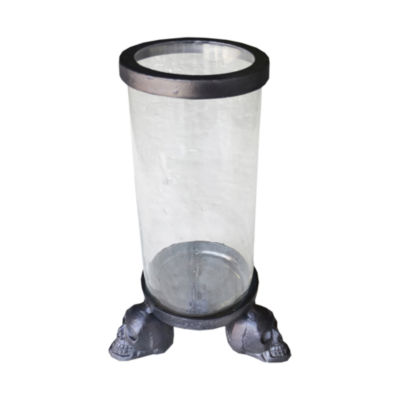 R16 Home Medium Skull Cylinder Decorative Jar