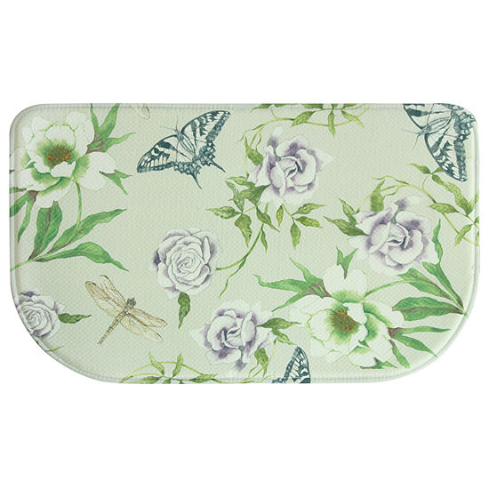 Bacova Guild Meadow Printed Wedge Anti-Fatigue Indoor Rugs