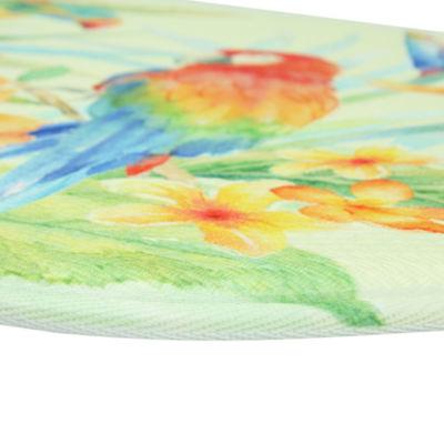 Bacova Guild Bird Of Paradise Printed Wedge Anti-Fatigue Rugs