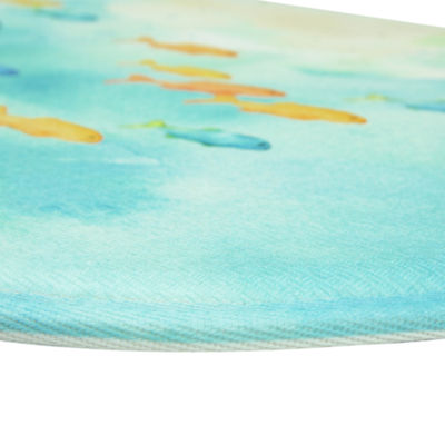 Bacova Guild Sea Splash Printed Wedge Anti-Fatigue Rugs