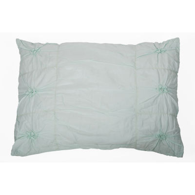 Rizzy Home Liliana Solid Knotted Sham