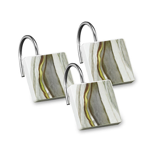 Popular Bath San Stane  Shower Curtain Hooks