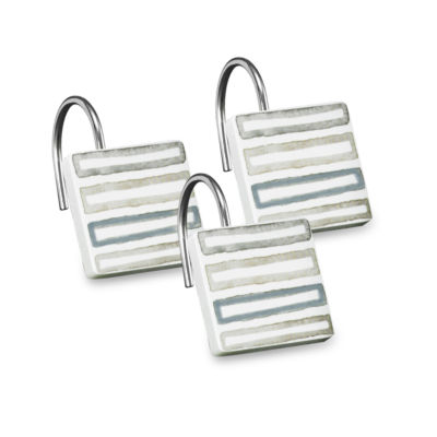 Popular Bath Repose Shower Curtain Hooks