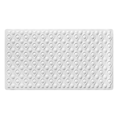 "Popular Bath Maric Tub Mat 16x28"" Natural Rubber"