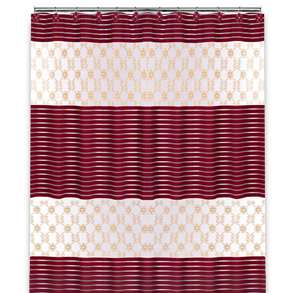 Popular Bath Monte Rose Shower Curtain