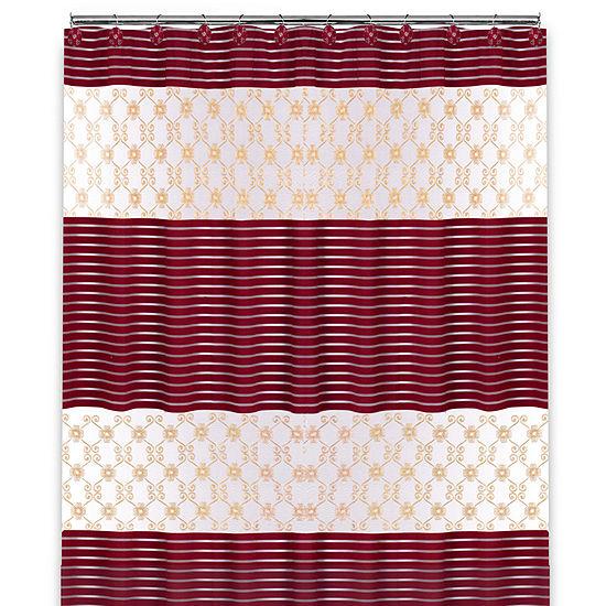 Popular Bath Monte Rose Shower Curtain