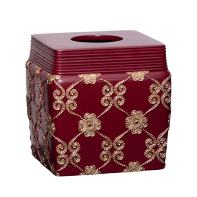 Popular Bath Monte Rose Tissue Box Cover