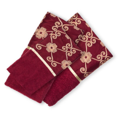 Popular Bath Monte Rose 3-pc. Bath Towel Set