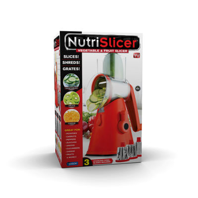 As Seen on TV  Nutrislicer Vegetable Slicer