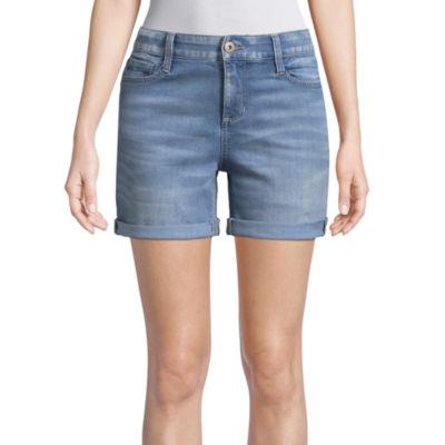 """St. John's Bay 5"""" Denim Shorts"""