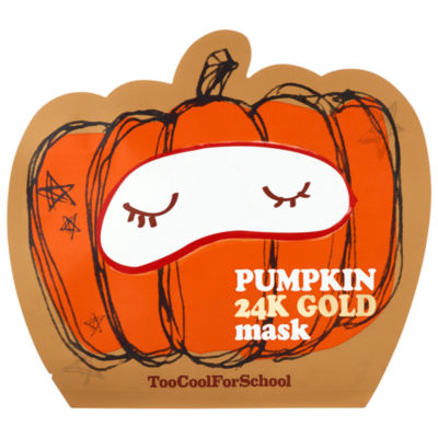 Too Cool For School Pumpkin 24K Gold Sheet Mask