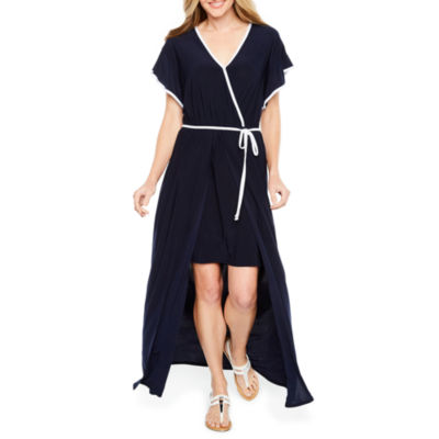Emma And Michele Short Sleeve Maxi Dress