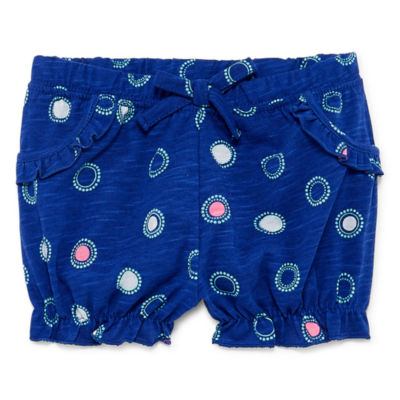 Okie Dokie Pull-On Bubble Shorts - Baby Girl NB-24M