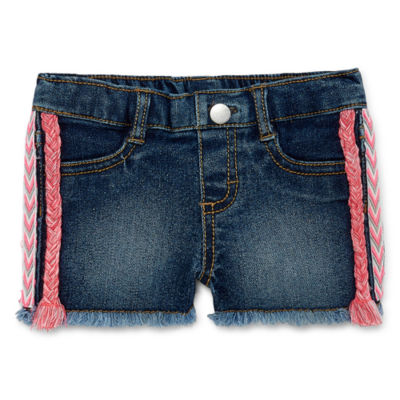 Okie Dokie Fashion Denim Short - Baby Girl 3M-24M