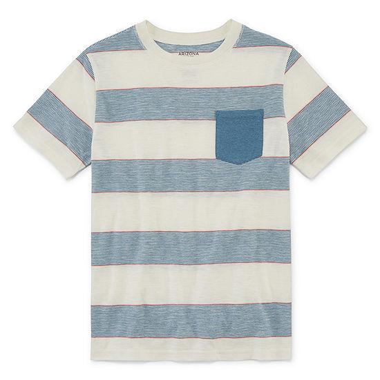 Arizona Boys Crew Neck Short Sleeve T Shirt