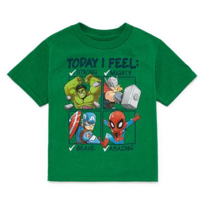 Graphic T-Shirt-Toddler Boys