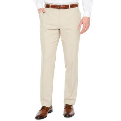 JF J.Ferrar Tan Stretch Super Slim Fit Suit Pants
