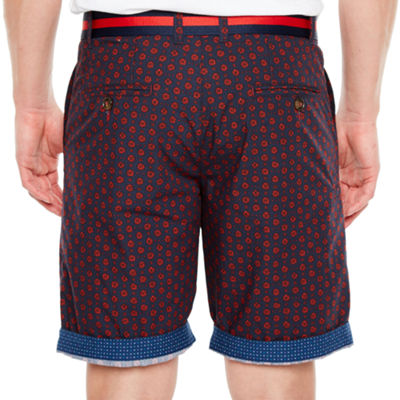 Society Of Threads Mens Mid Rise Chino Short