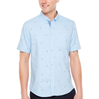 Jmco Short Sleeve Button-Front Shirt