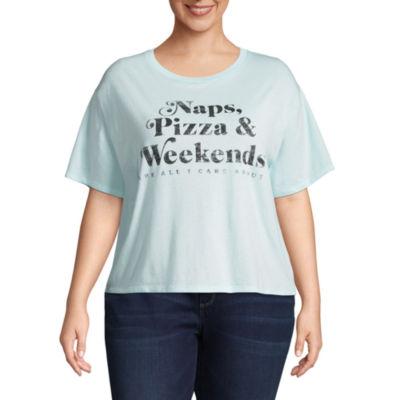 """""""Naps, Pizza & Weekends"""" Tee - Juniors Plus"""