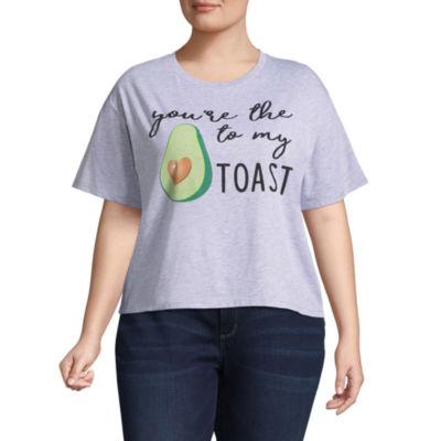 """Avocado to my Toast"""" Tee - Juniors Plus"""