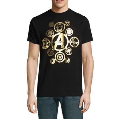 Avengers Infinity War Gold Foil Graphic Tee