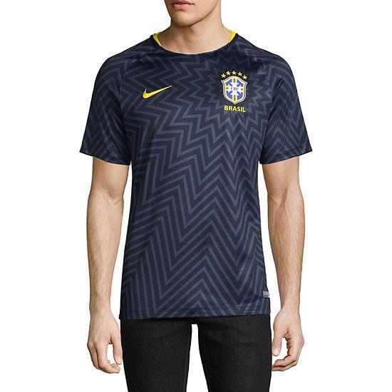 Nike Mens Round Neck Short Sleeve Moisture Wicking T-Shirt