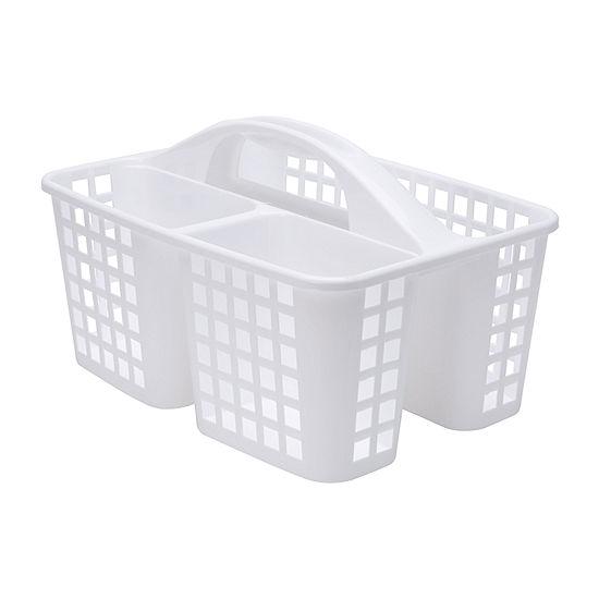 Kennedy International White Caddy Basket