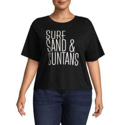 """Surf, Sand & Suntans"" Tee - Juniors Plus"