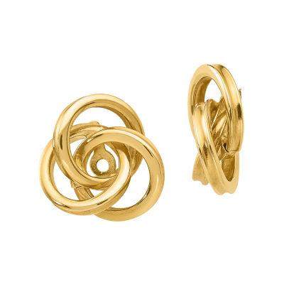 14K Gold Knot Earring Jackets