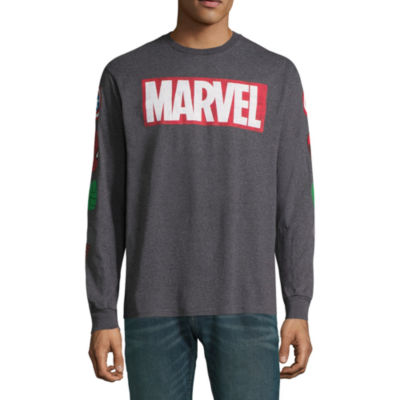 Marvel Character Long Sleeve Graphic Tee