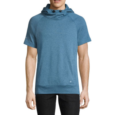 Xersion Short Sleeve Fleece Hoodie