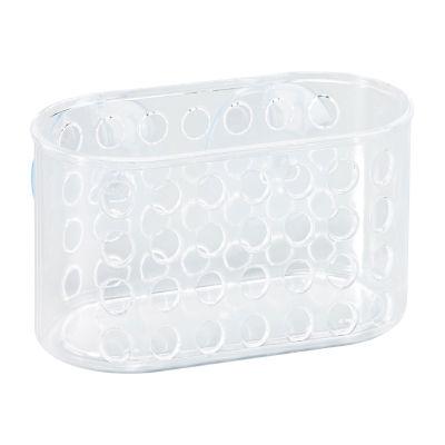 Kennedy International Clear Suction Bath Basket