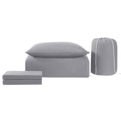 Brooklyn Loom Jersey Dorm Set 4-pc. Comforter Set