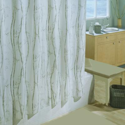 Bamboo 6g Xl Eva Shower Curtain Shower Curtain