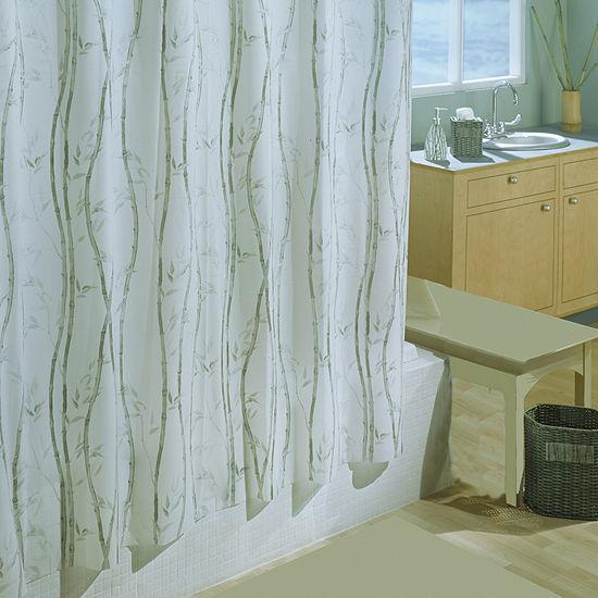 Bamboo 6g Xl Eva Shower Curtain
