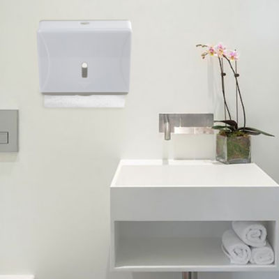 Mind Reader Multi-Fold Surface-Mounted Paper Towel Dispenser