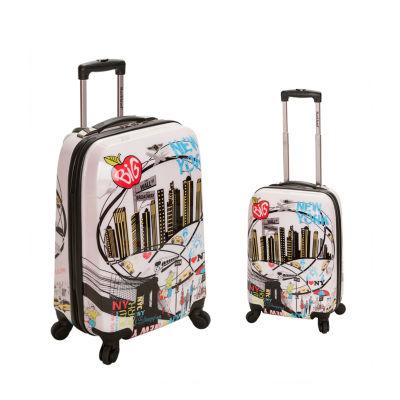 Rockland 2 Piece Hardside Luggage Set