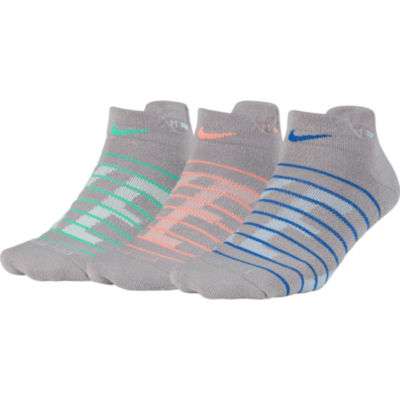 Nike 3 Pair Low Cut Socks - Womens