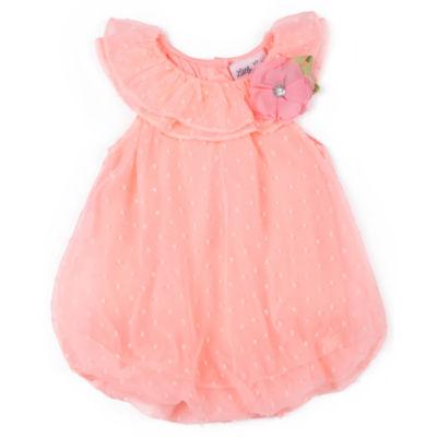 Little Lass Sleeveless Romper - Baby