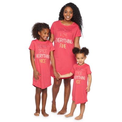 Short Sleeve Nightshirt-Toddler Girls