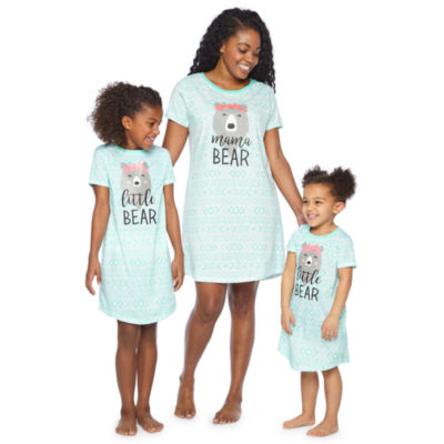 Short Sleeve Nightshirt-Toddler Girls